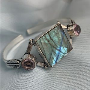 Jewelry - Labradorite adjustable cuff bracelet